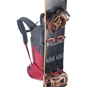 EVOC Line R.A.S. Zaino 20l, heather carbon grey-heather ruby